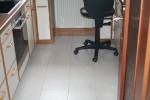 Klebekork weiß in Küche